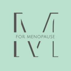 m for menopause logo